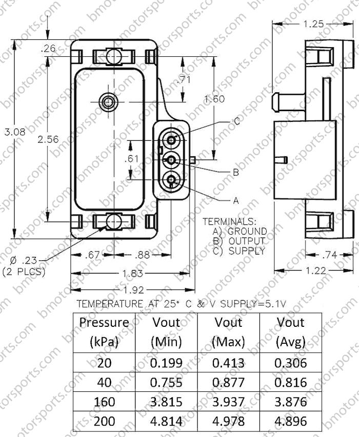 Home Shop Sensors Pressure Sensors Delphi Gm 2